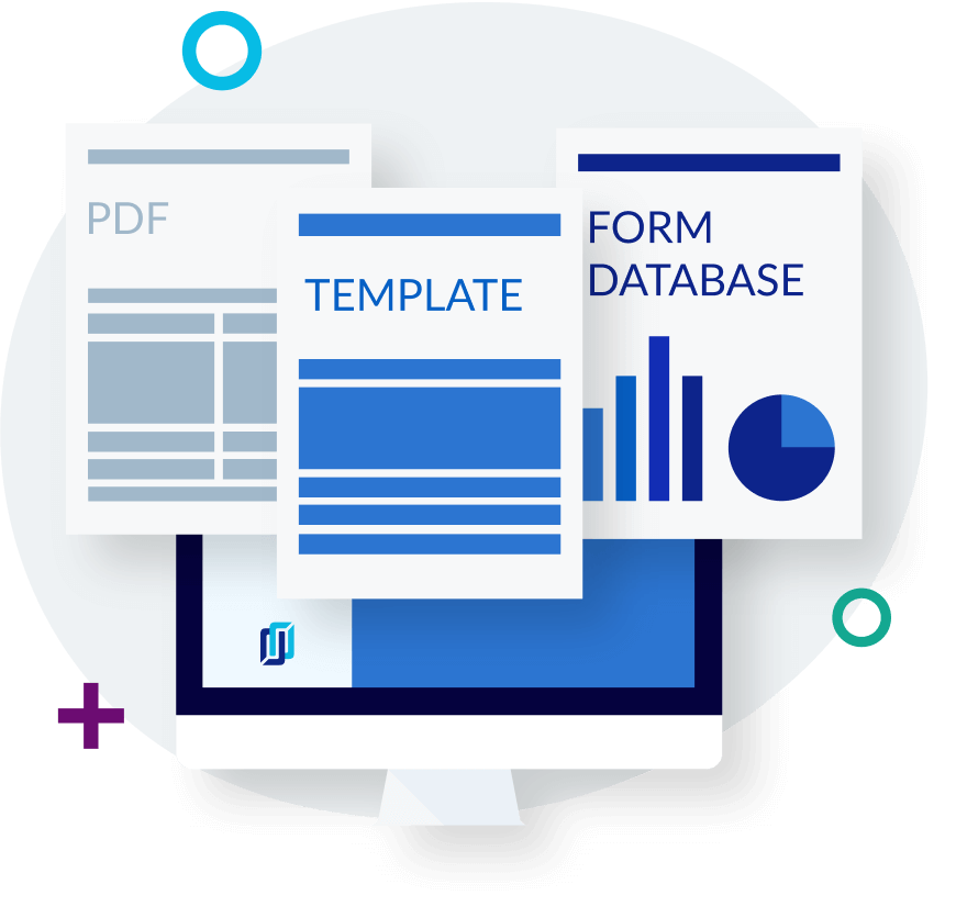 Standardized PDFs, templates, and forms