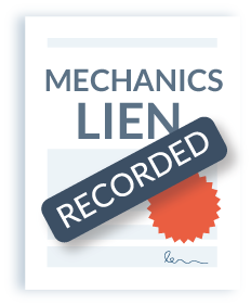 Mechanics Lien Recorded