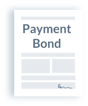 Payment bond in construction
