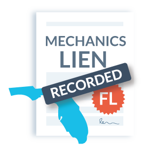Record your Florida mechanics lien