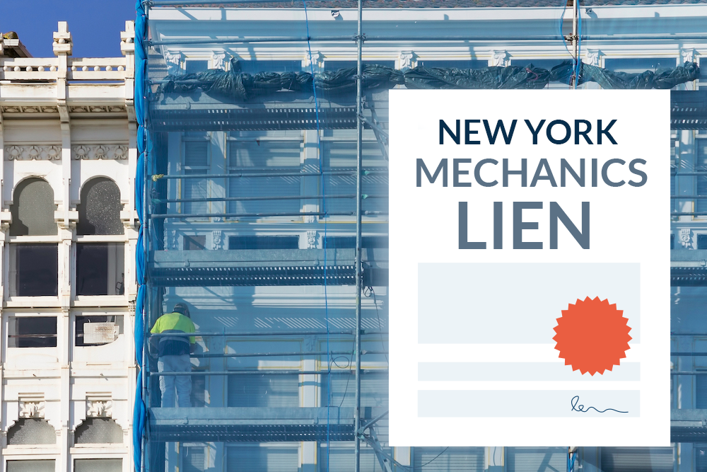 How to file a New York mechanics lien