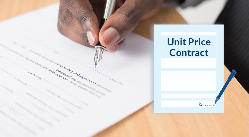 What is a Unit Price Contract