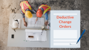 Deductive Change Orders in construction