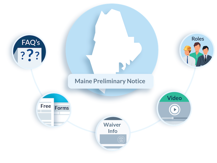 Maine Preliminary Notice FAQs