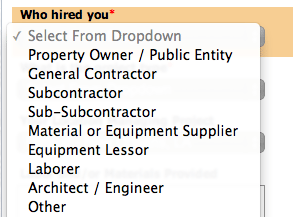 Determining Your Role & Tier on a Construction Project