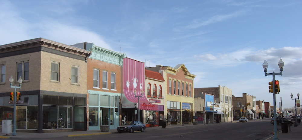Downtown Laramie - Wyoming Construction