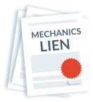 Stack of mechanics liens