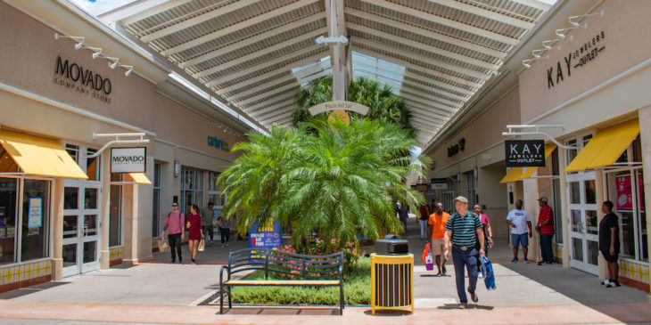 Orlando Premium Outlets shopping mall