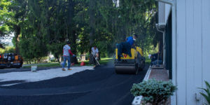 Paving project on a fixed-price contract