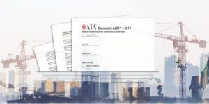 A depiction of the AIA A201 contract