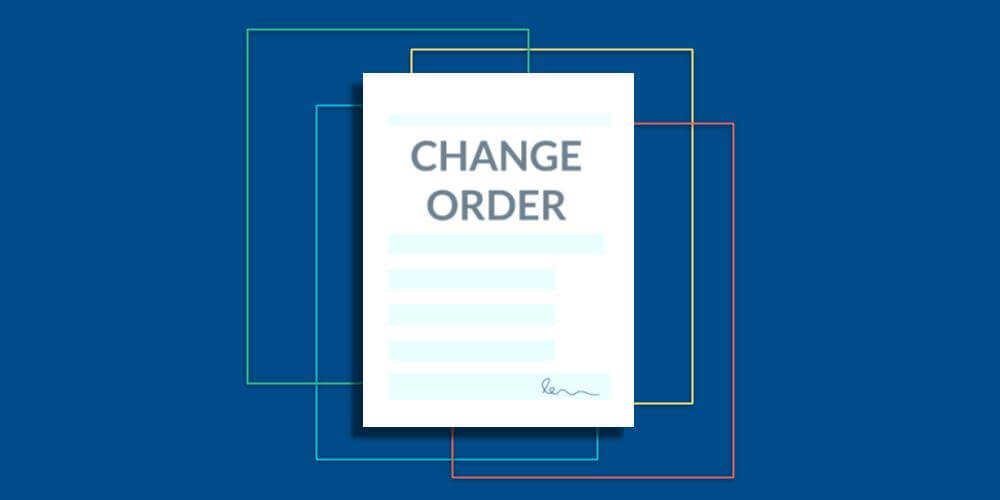 Change Order Templates