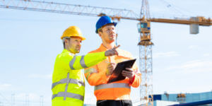 Fund control inspection on construction jobsite