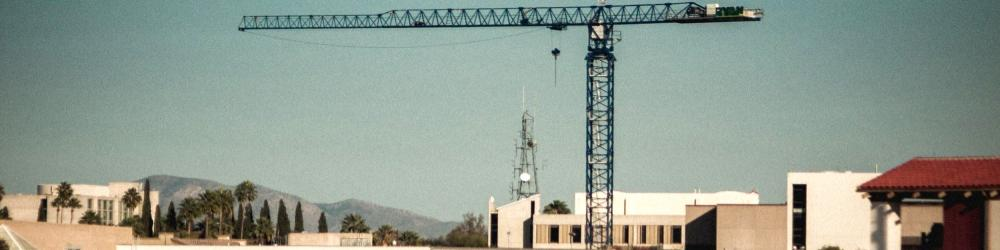 Photo of construction in Los Angeles
