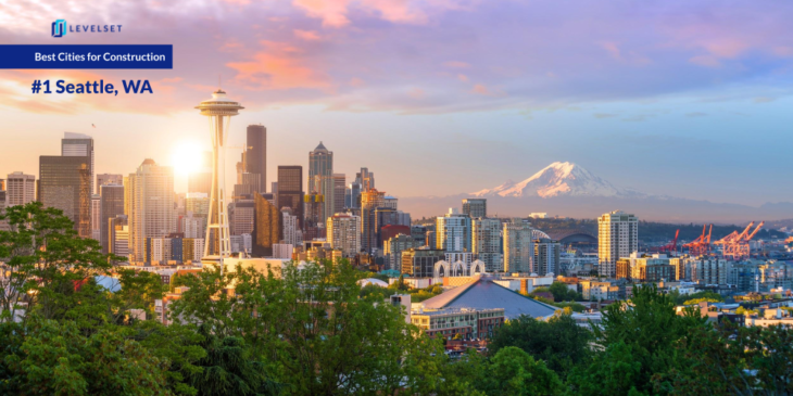 Seattle skyline - #1 Best City for Construction